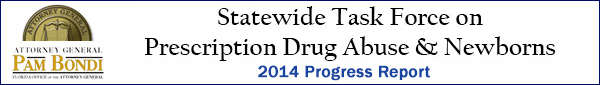 Statewide Task Force on Prescription Drug Abuse & Newborns February 2014 Progress Report